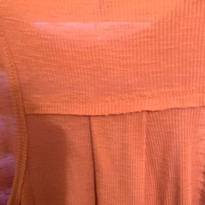 Z Supply Tops - High neckline cute NWOT pink tank top